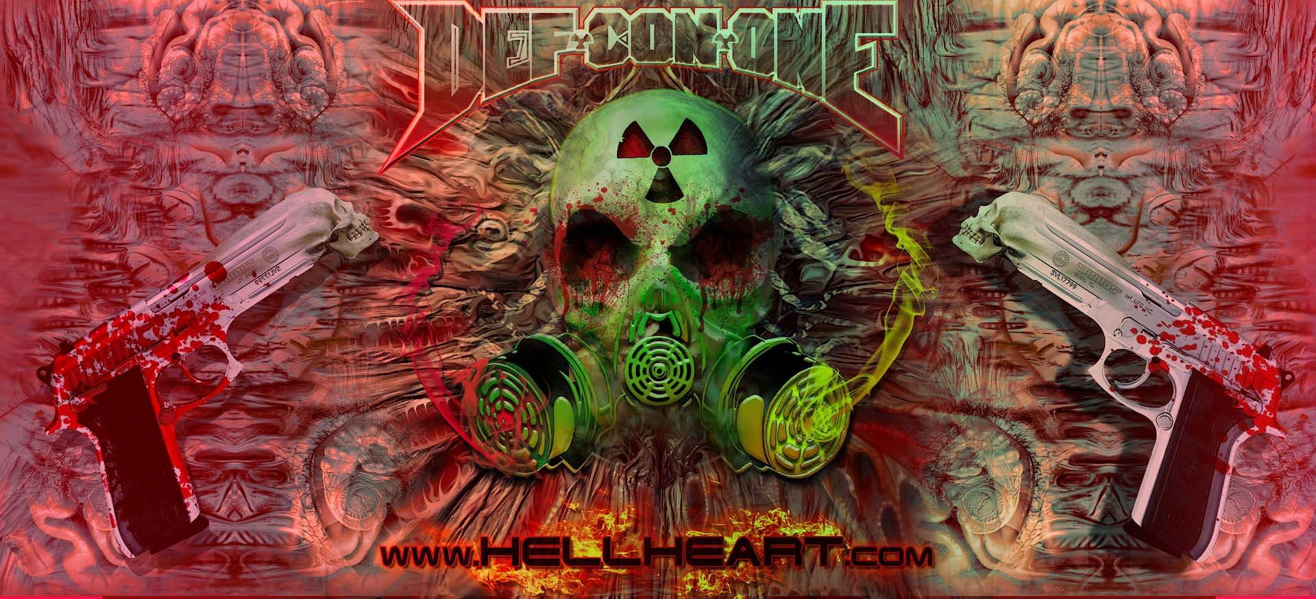 DEF-CON-ONE ARTWORK BY HELLHEART.